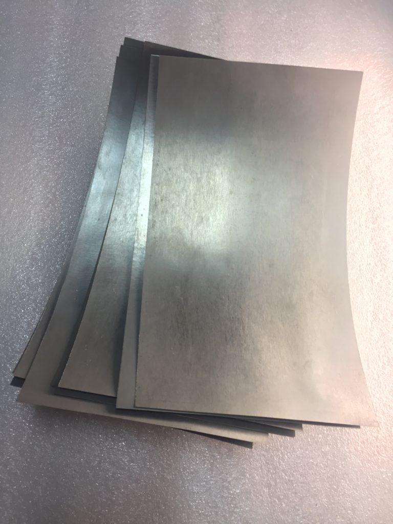 Вольфрамовые полосы лист